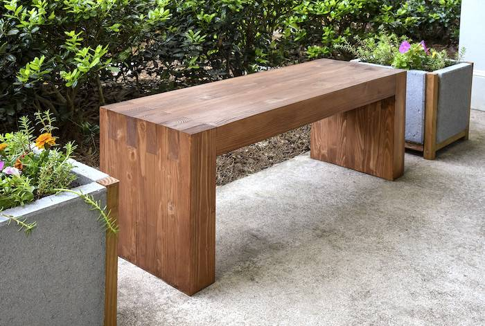 Ana White Williams Sonoma Inspired Outdoor Bench