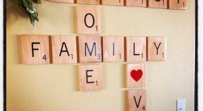 Anniethology Scrabble Wall Tiles