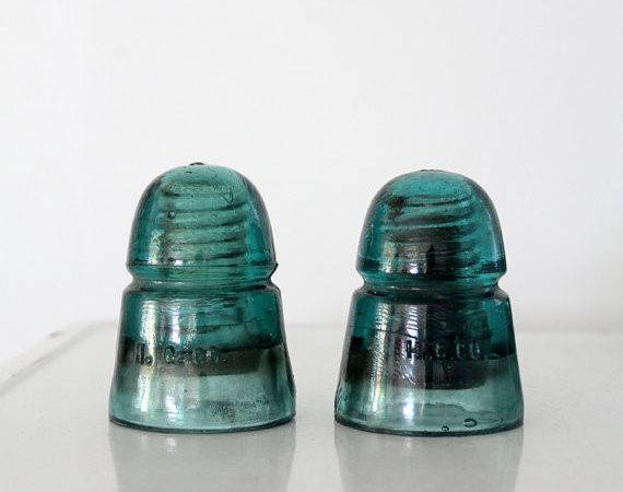 Antique Glass Insulator Collection