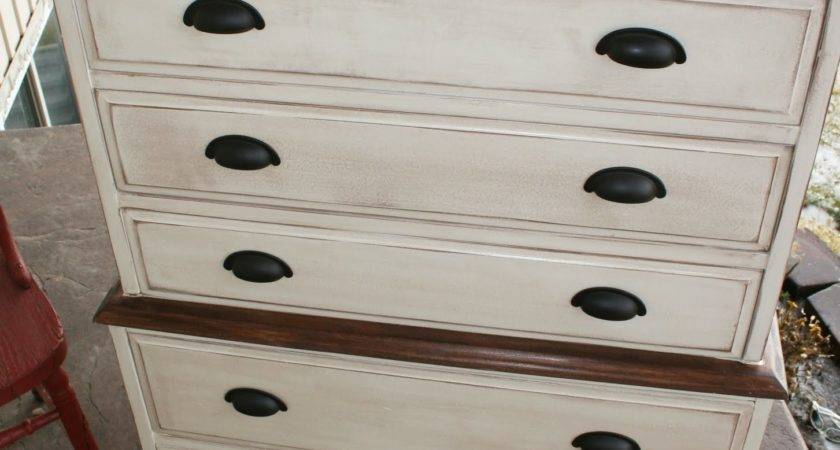 Antique Recreation Chest Dresser Redo