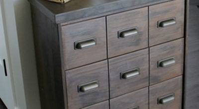 Apothecary Cabinet Ikea Rast Hack Rose Knows
