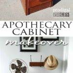 Apothecary Cabinet Makeover Trashure Story Prodigal