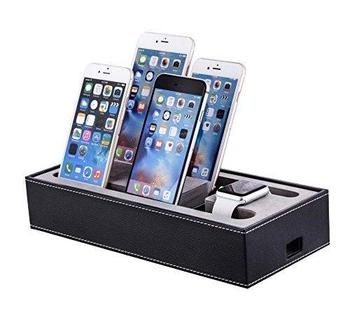Apple Watch Stand Iphone Ipad Charging Station Multiple