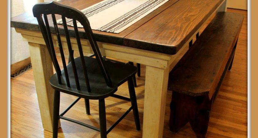 Art Beauty Build Your Own Farmhouse Table