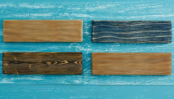 Artfully Aged Wood Finishes