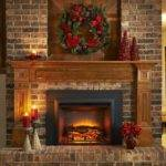 Artificial Fire Insert Fireplace Designs