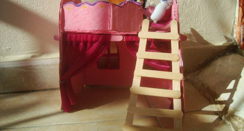Arts Crafts Kids Make Barbie Bed