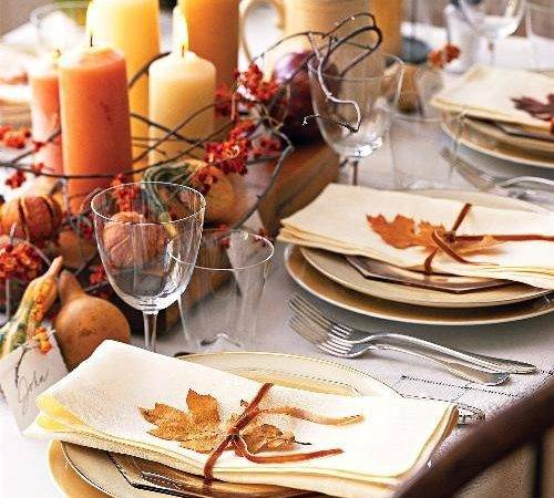 Ashley Baber Weddings Fall Tablescape