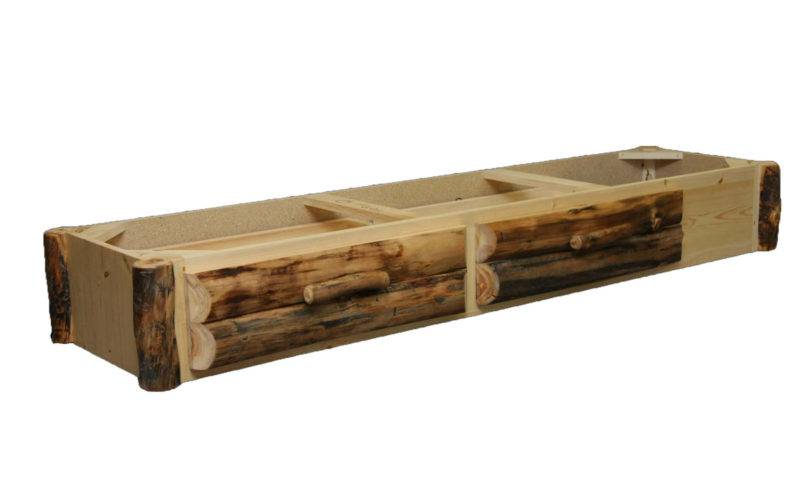 Aspen Log Furniture Drawer Underbed Storage Black