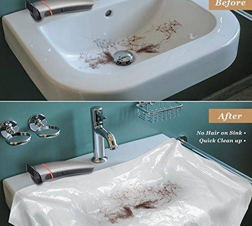Athomebarber Disposable Plastic Sink Covers Easy