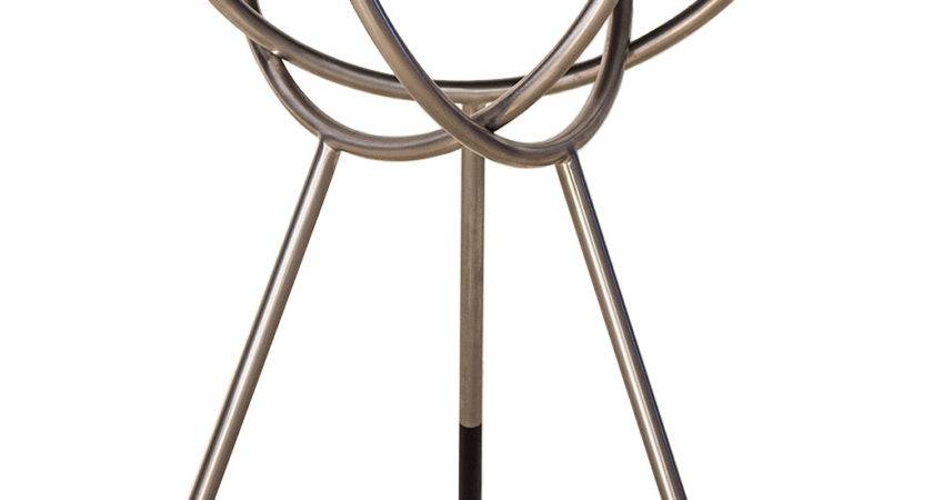 Atlas Side Table Transitional Mid Century Modern