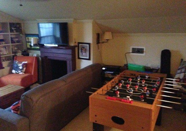 Attic Teen Game Room Modern Other Metro