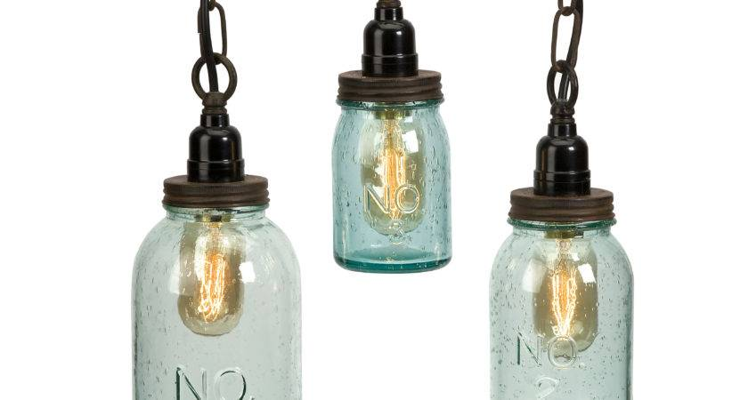 August Grove Norgate Piece Mason Jar Mini Pendant Set