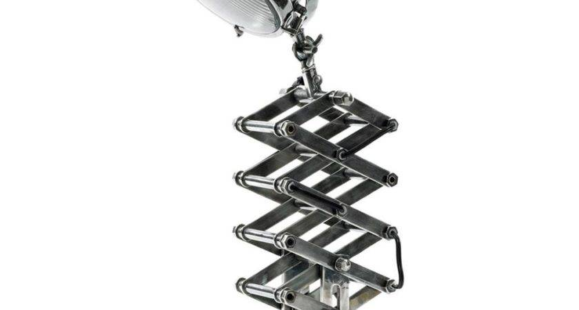 Auto Extender Industrial Steel Accordion Table Lamp