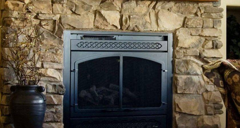 Awesome Fireplace Mantel Design Beige Stone Cool