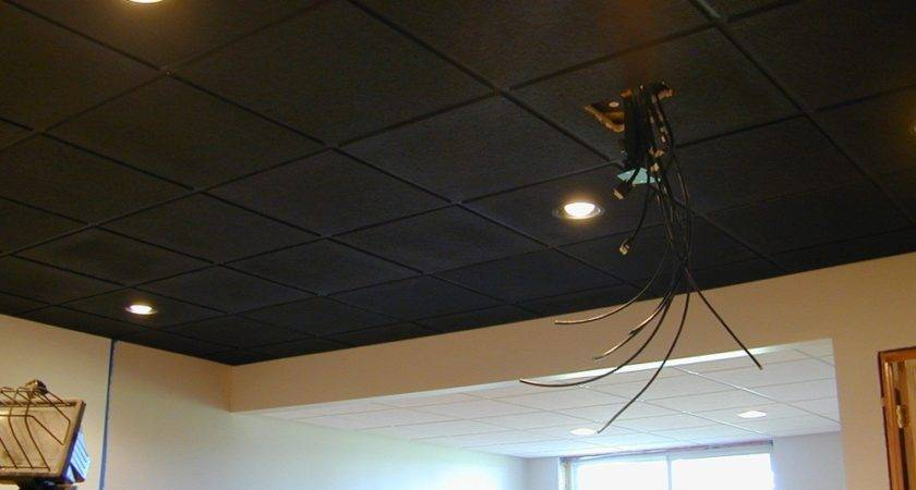Awesome Unfinished Basement Ceiling Ideas Good