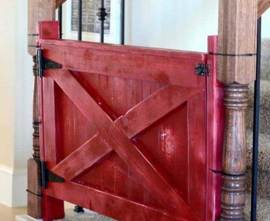 Baby Gate Barn Door Video Tutorial