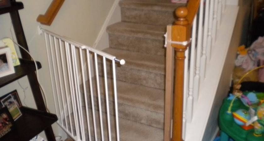 Baby Gate Stairs Banister Diy Best Gates