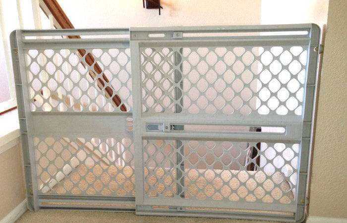 Baby Gate Top Stairs Safety Stairway