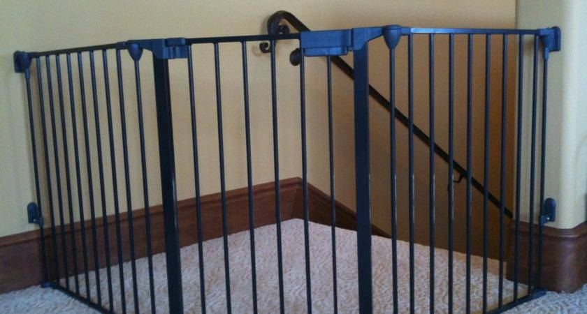 Baby Gates Top Stairs Banisters Neaucomic