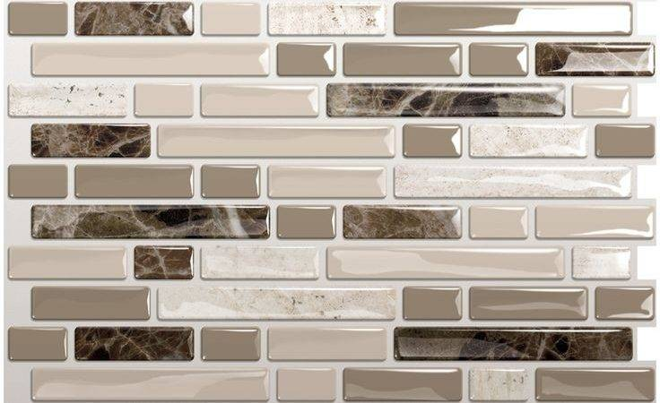 Backsplash Ideas Awesome Peel Stick Vinyl Tile
