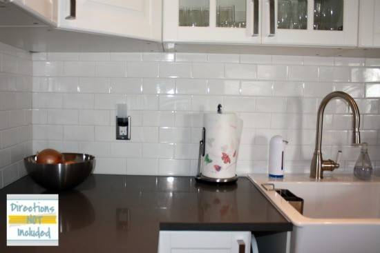 Backsplash Reveal Diy Subway Tile