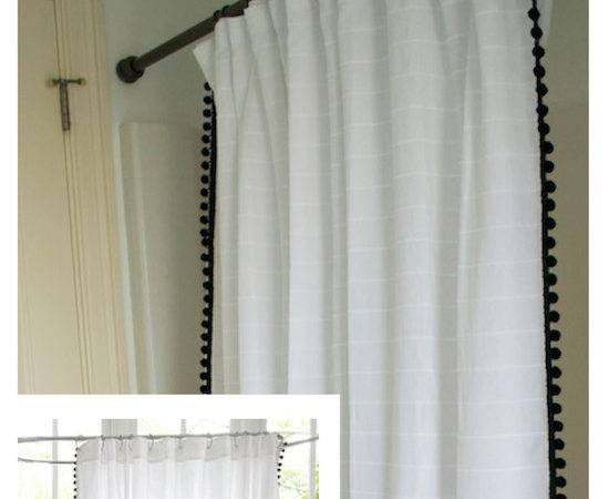 Ballard Designs Shower Curtain Knock Off Hardware