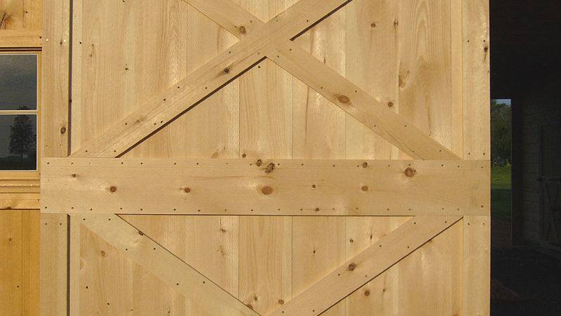 Barn Door Construction Build Sliding Doors