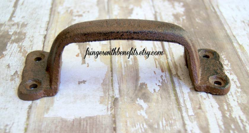 Barn Door Handle Large Rustic Pull Cast Fringeswithbenefits