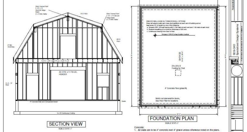 Barn Shed Plan Pole Plans Building Your Personal