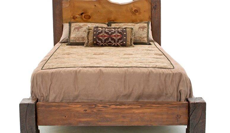 Barn Wood Bed Reclaimed Western Lodge