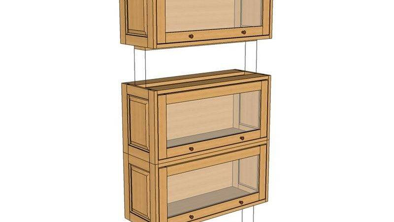 Barrister Bookcase Plans Woodwork