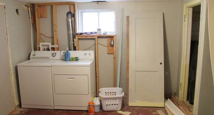 Basement Laundry Room Makover Idea Before After Plus