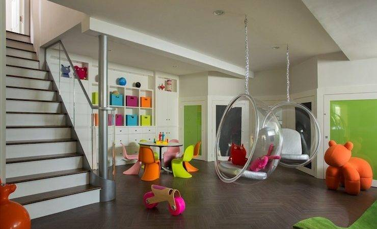 Basement Playroom Contemporary Liz Caan