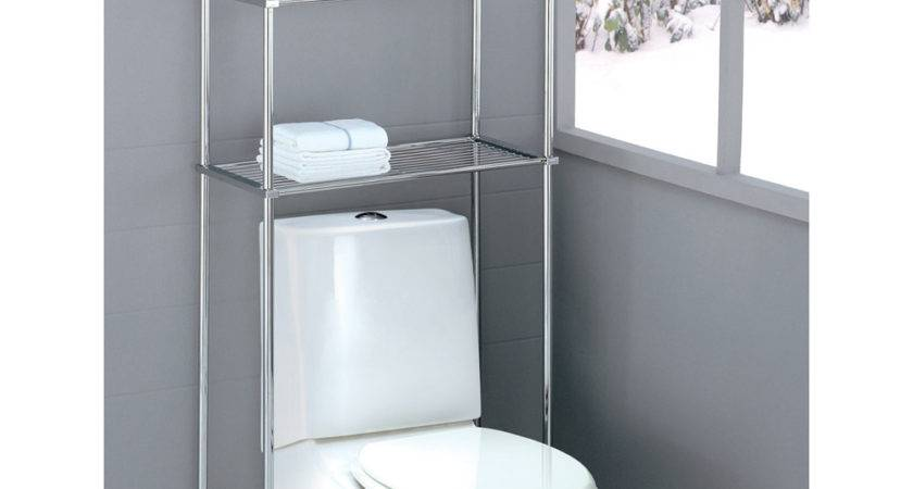 Bathroom Over Toilet Space Saver Shelving