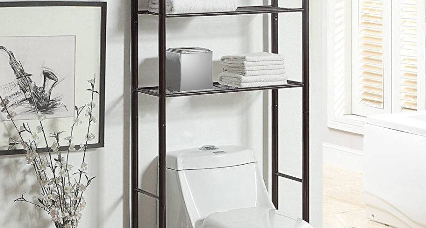 Bathroom Shelves Over Toilet Imgkid