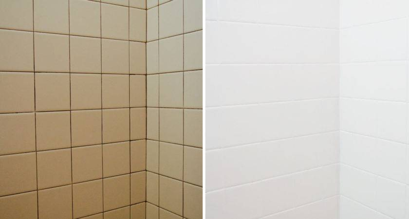 Bathroom Tile Makeover Paint Ramshackle Glam