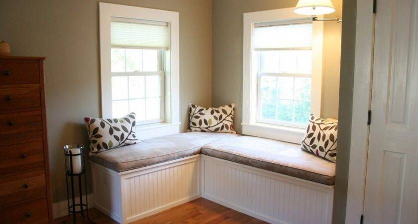 Bay Window Seat Comfortable Seating Area Home