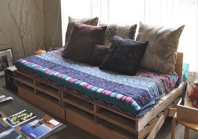 Beautiful Fascinating Pallet Couches Wooden
