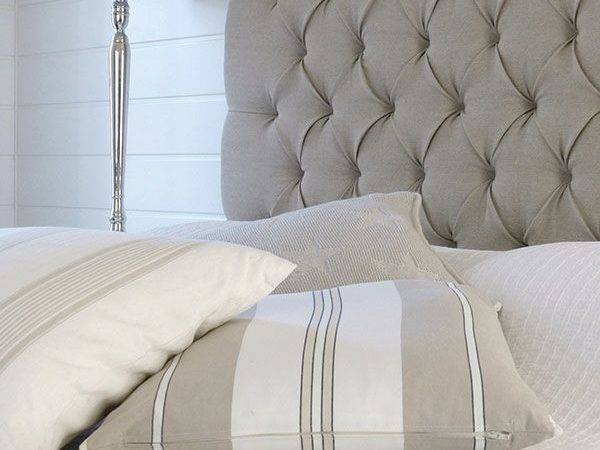 Beautiful Quality Headboard Extra Large Height Chenille