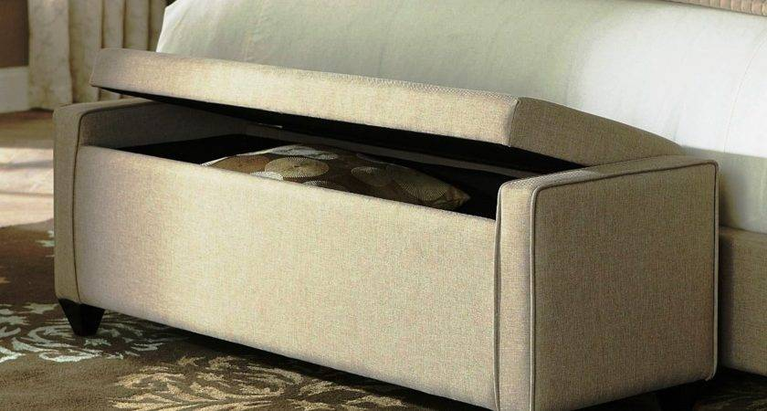 Bed End Storage Bench