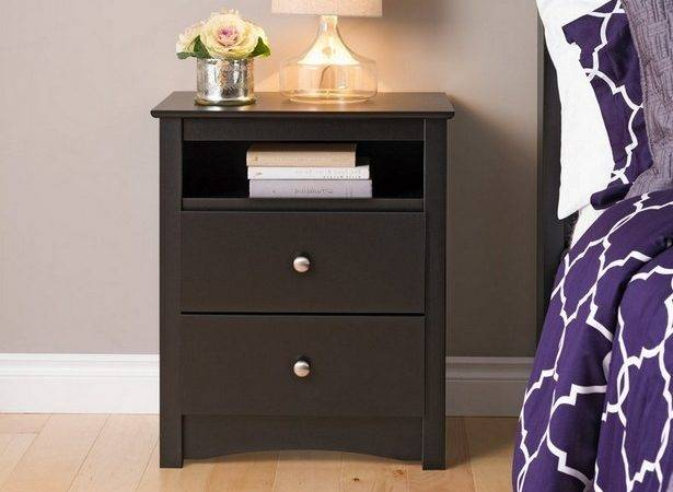 Bedroom Tall Nightstands Supposed Extra