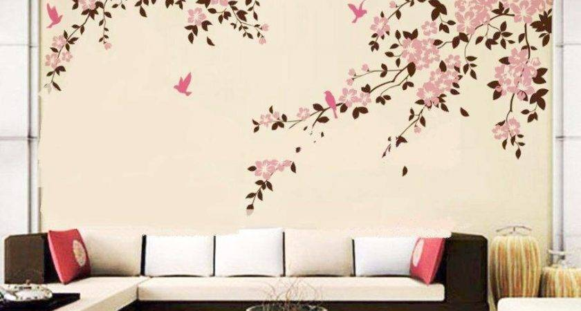 Bedroom Wall Painting Modern Style Home Design Ideas