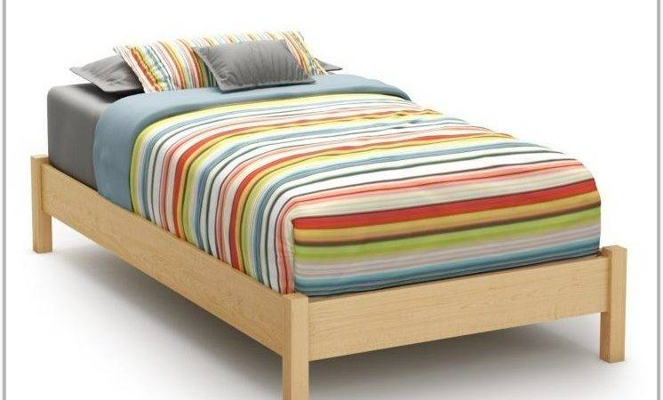 Beds Without Headboard Footboard Interior Design