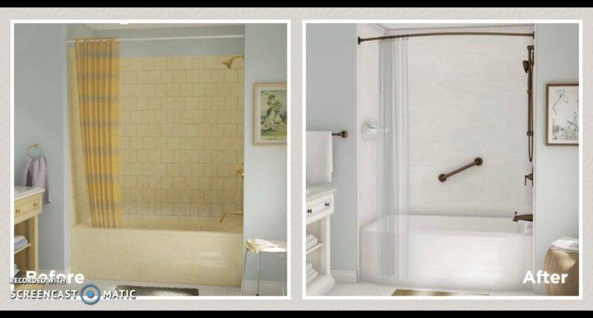 Before After Bath Fitter Youtube