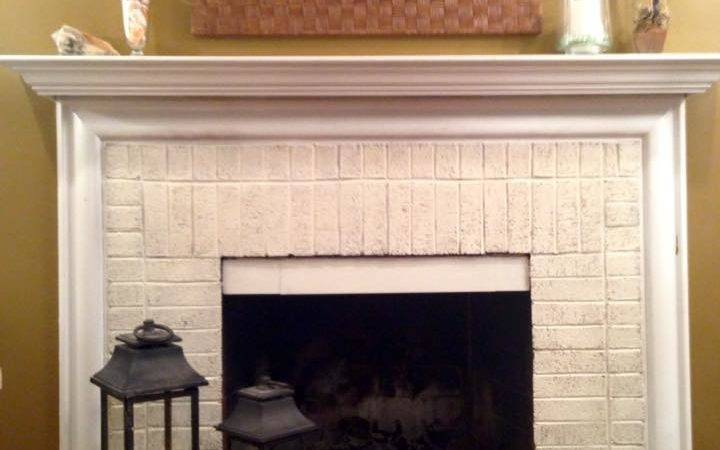 Before After Fireplace Facelift Stylish Patina