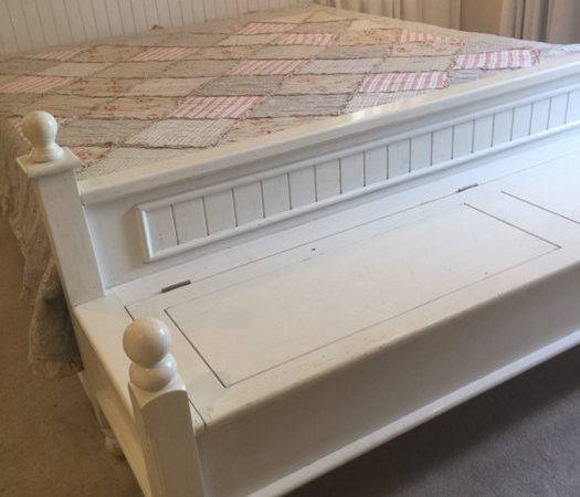 Bench King Bed