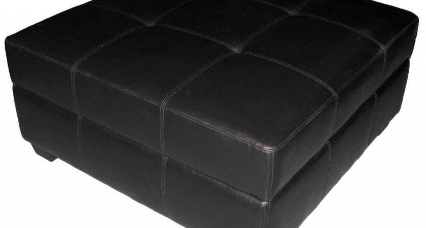 Best Black Leather Ottoman Elegant Enough Make Your