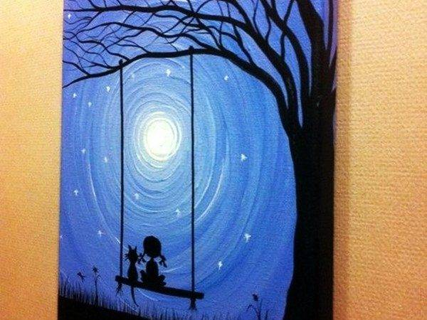 Best Canvas Painting Ideas Beginners