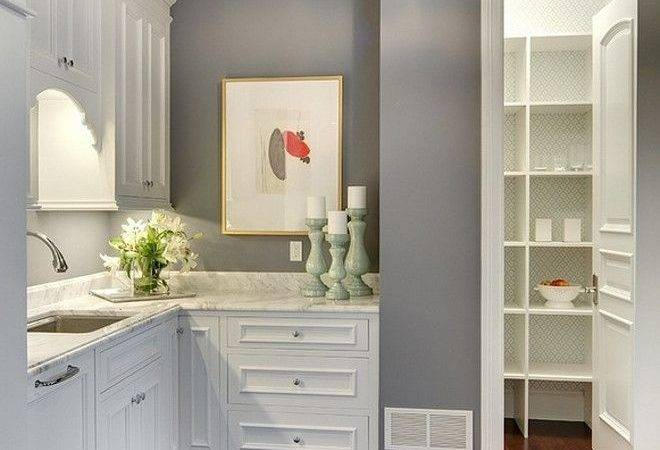 Best Collection Wall Color Kitchen White